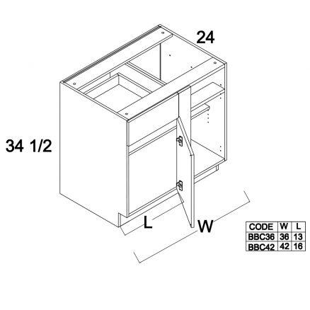 MGW-BBC42 - Blind Base- 42 inch