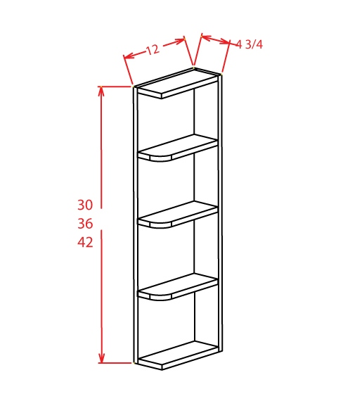 YW-OE630 - Open End Shelves - 6 inch