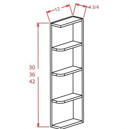 YW-OE636 - Open End Shelves - 6 inch