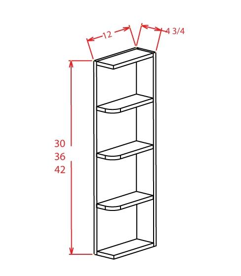 SE-OE642 - Open End Shelves - 6 inch