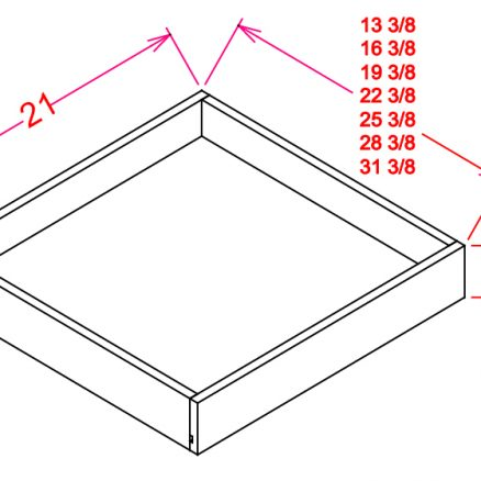 RS18-TypeB RS18 Roll Out Shelf B18