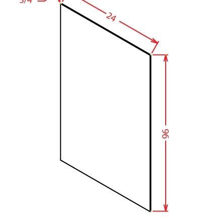 CS-S2496 - Panel-24 X 96 Shelf Material - 24 inch