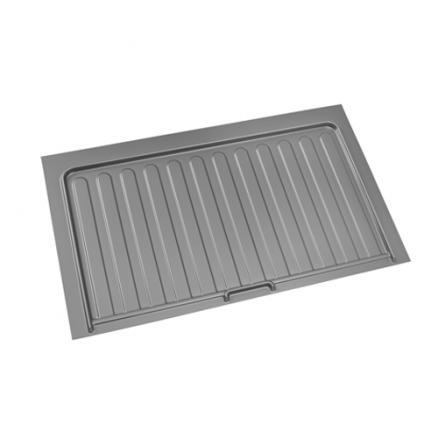 SBVDT-3336-S-1 - Vanity Sink Base Drip Tray (Silver)