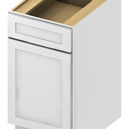 MiniB12 Base Cabinet 12 inch Shaker White