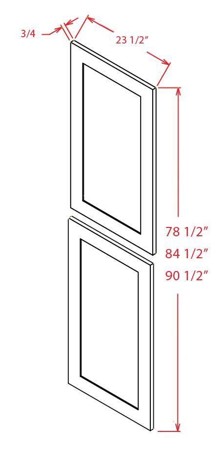 YW-TDEP2490 - Panel-Tall Decorative End 24 X 90 - 23.5 inch