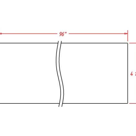 TD-TKC - Molding-Toe Kick - 96 inch