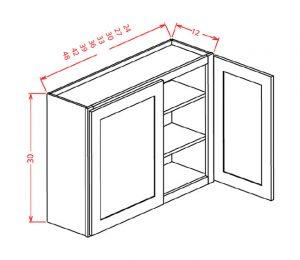 upper wall cabinet