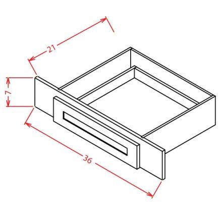YW-VKD36 - Vanity Knee Drawer - 36 inch