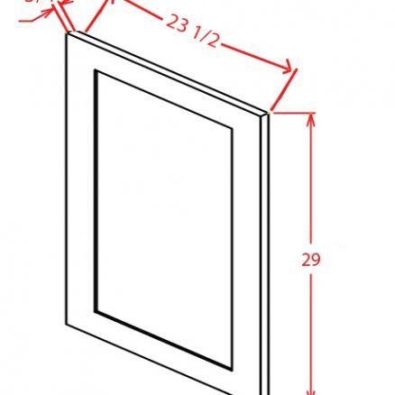 CW-VDEP - Panel-Vanity Decorative End Panel - 20.5 inch