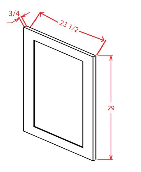 YC-VDEP - Panel-Vanity Decorative End Panel - 20.5 inch
