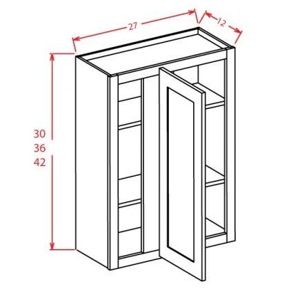 YW-WBC2730 - Wall Blind Cabinet - 27 inch