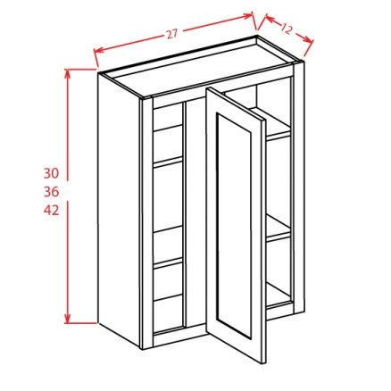 SE-WBC2730 - Wall Blind Cabinet - 27 inch