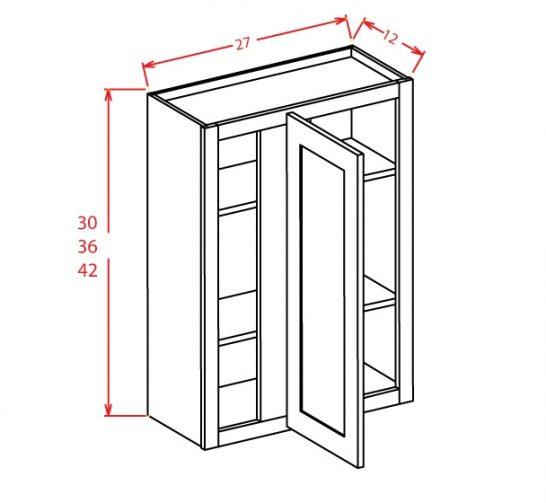 TD-WBC2736 - Wall Blind Cabinet - 27 inch