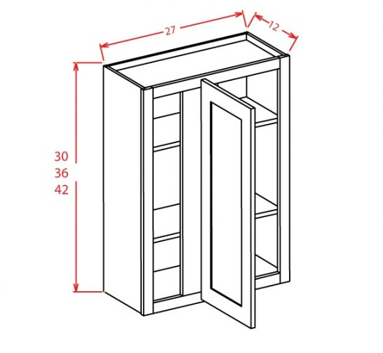 TW-WBC2736 - Wall Blind Cabinet - 27 inch