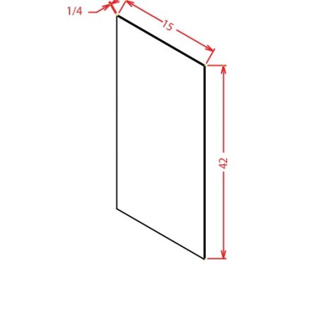YW-WSV42 - Panel-Wall Skin Veneer 42 High - 15 inch