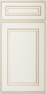 Yorkshire Antique White Sample Door